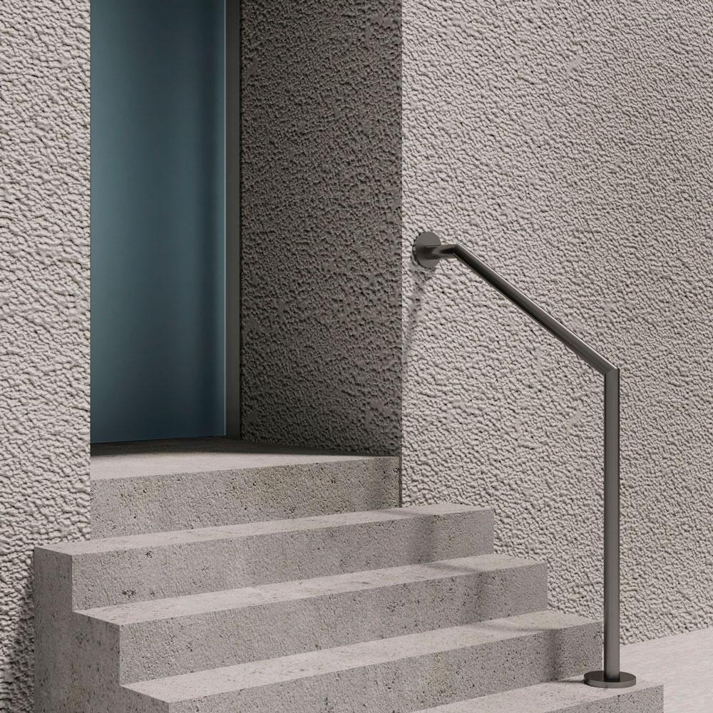 Treppenhandlauf seitliche Wandtreppe